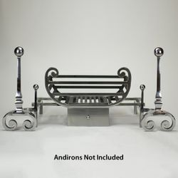 """Tyndale Fire Basket For Andirons - 18"""""""