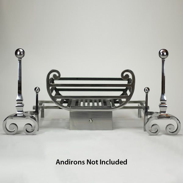 """Tyndale Fire Basket For Andirons - 18"""" image number 0"""