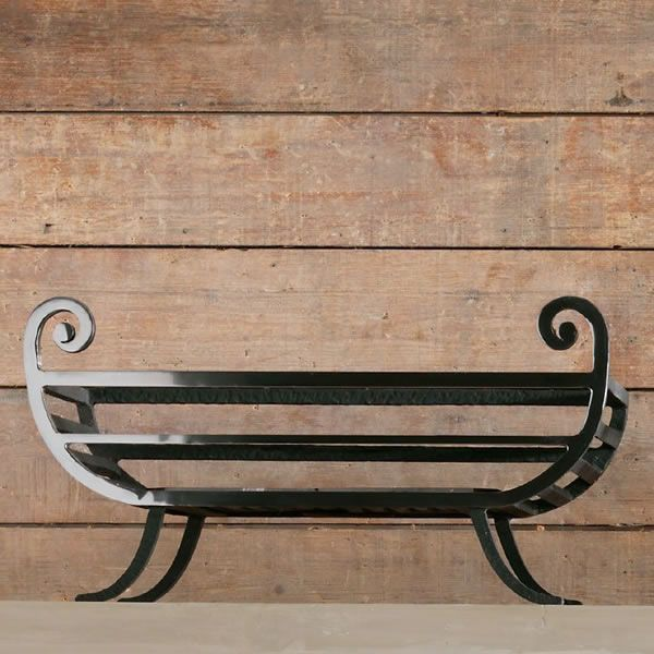 "Tyndale Freestanding Fire Basket - 18"" image number 1"