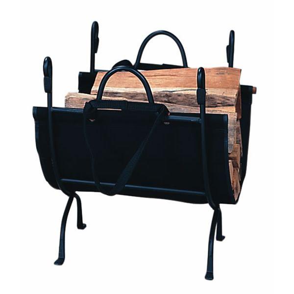Uniflame Deluxe Wrought Iron Indoor Firewood Rack image number 0