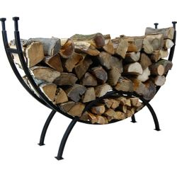 Highland Curved Log Rack