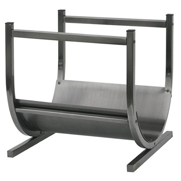 Uniflame Indoor Firewood Rack - Pewter image number 0