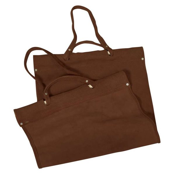 Uniflame Suede Log Carrier - Light Brown image number 0