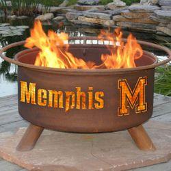 University of Memphis Wood Burning Fire Pit
