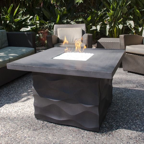 Voro Outdoor Gas Fire Pit Table image number 0