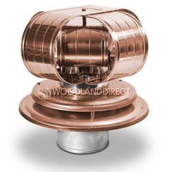 Vacu-Stack Air Cooled Copper Chimney Cap