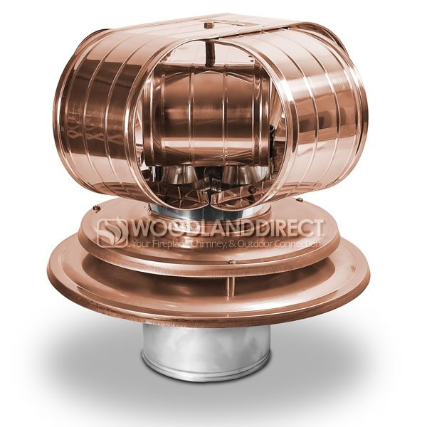 Vacu-Stack Air Cooled Copper Chimney Cap image number 0