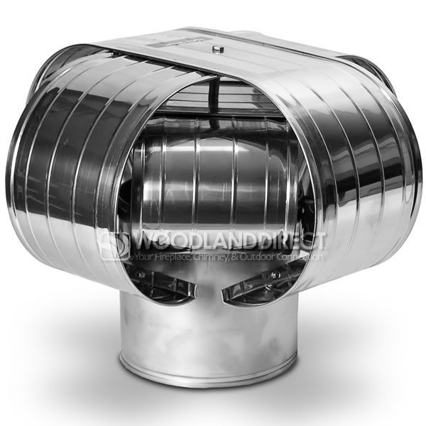 Vacu-Stack Solid Pack Stainless Steel Chimney Cap image number 0
