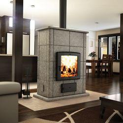 Valcourt FM400 Soapstone Mass Fireplace