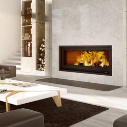 Valcourt St. Laurent Linear Wood Fireplace