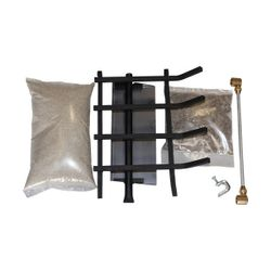 Vented Gas Log Hearth Kit