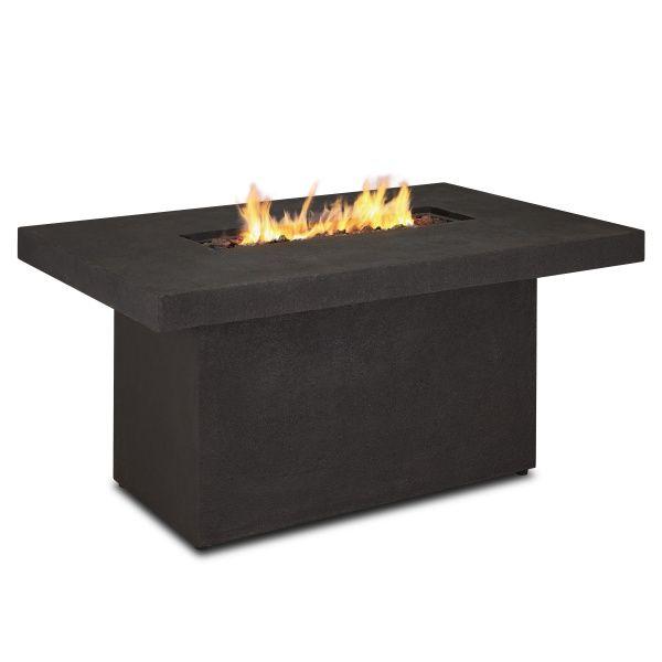 Ventura Rectangle Gas Fire Pit Table - Kodiak Brown image number 3