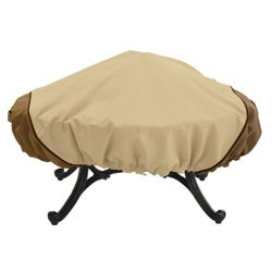 "Verande Round Fire Pit Cover - Up to 44"" Diameter"