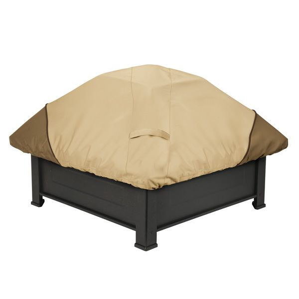 "Verande Square Fire Pit Cover 40""W x 25""H image number 0"