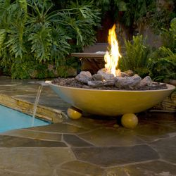 Versailles Gas Water and Fire Bowl
