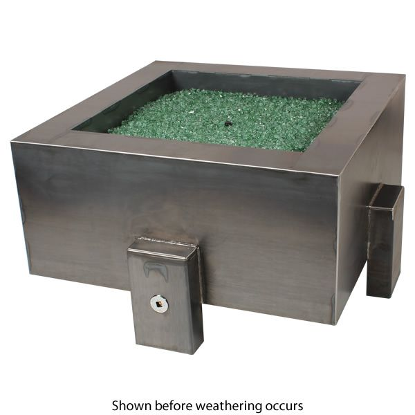 "Vesta Fia Steel Gas Fire Pit - 38"" image number 1"