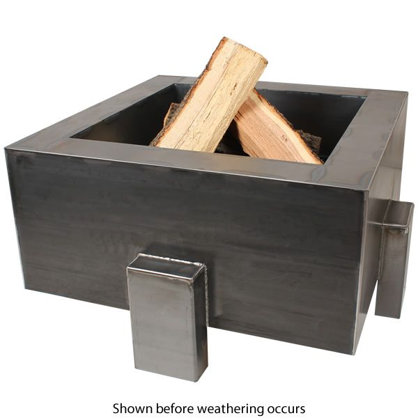 "Vesta Fia Steel Wood Burning Fire Pit - 38"" image number 2"