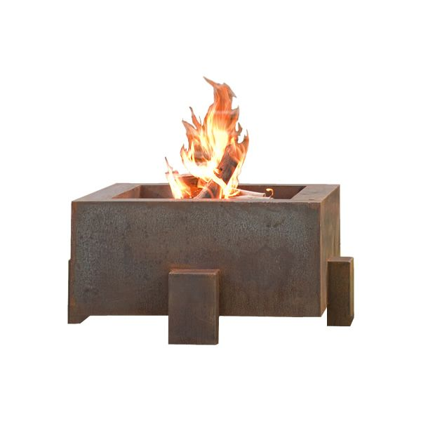 "Vesta Fia Steel Wood Burning Fire Pit - 38"" image number 0"