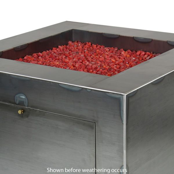 "Vesta Fia Steel Gas Fire Pit - 30"" image number 4"