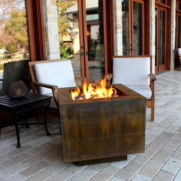 "Vesta Fia Steel Gas Fire Pit - 30"" image number 0"