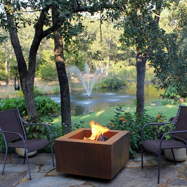 "Vesta Fia Steel Wood Burning Fire Pit - 30"" image number 0"