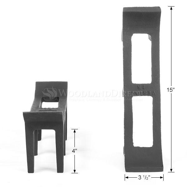 """Log Rests - 15"""" image number 1"""