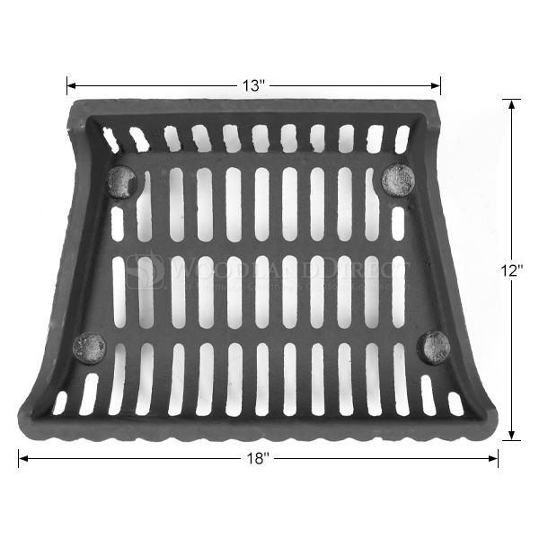 "Modern Fireplace Grate - 18"" image number 1"