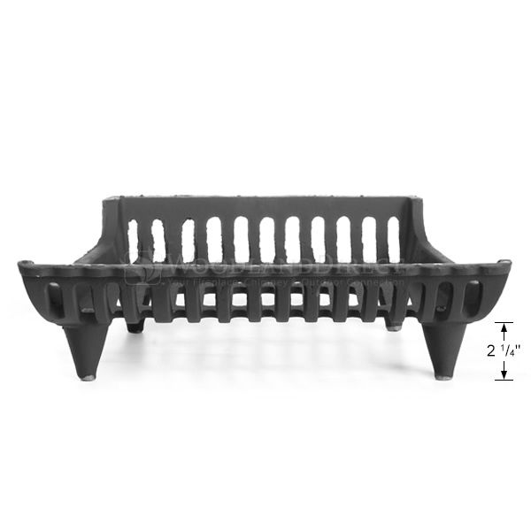"Modern Fireplace Grate - 18"" image number 2"