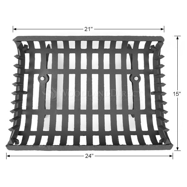 "Basket Fireplace Grate - 24"" image number 1"