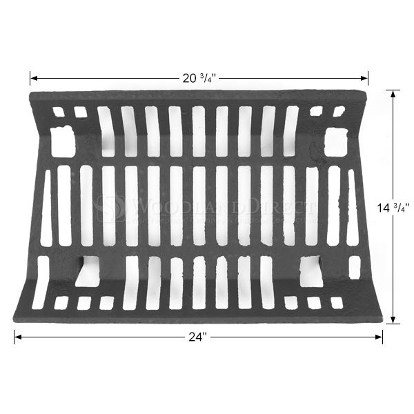 """Traditional Fireplace Grate - 24"""" image number 1"""