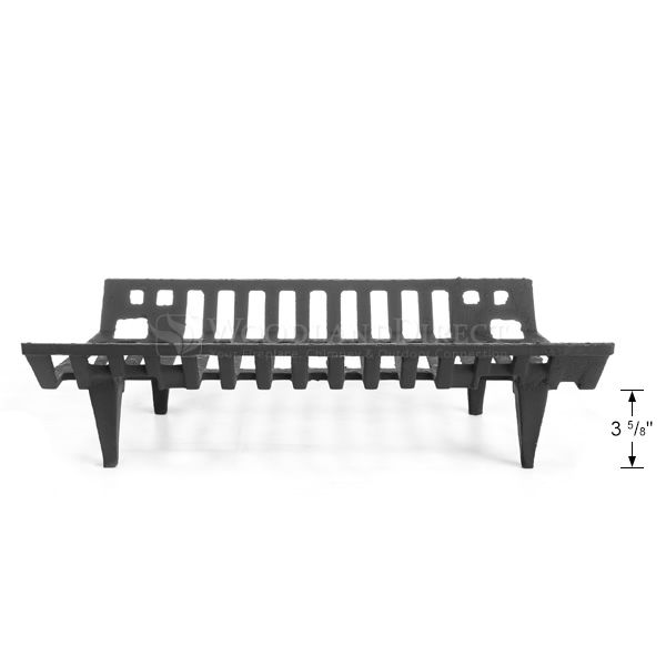 """Traditional Fireplace Grate - 24"""" image number 2"""