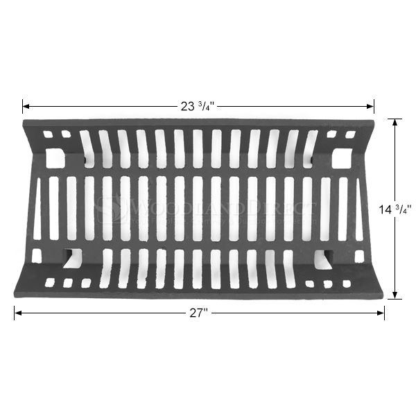 """Traditional Fireplace Grate - 27"""" image number 1"""