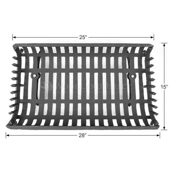 """Basket Fireplace Grate - 28"""" image number 1"""