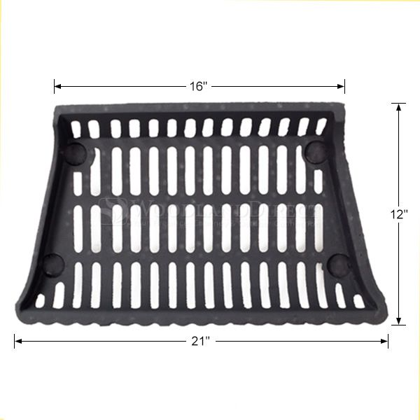 """Modern Fireplace Grate - 21"""" image number 1"""