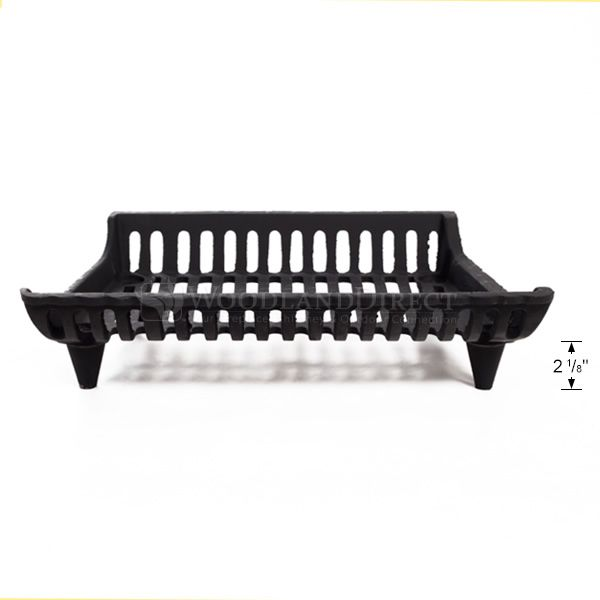 """Modern Fireplace Grate - 21"""" image number 2"""