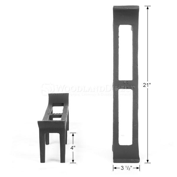 """Log Rests - 21"""" image number 1"""
