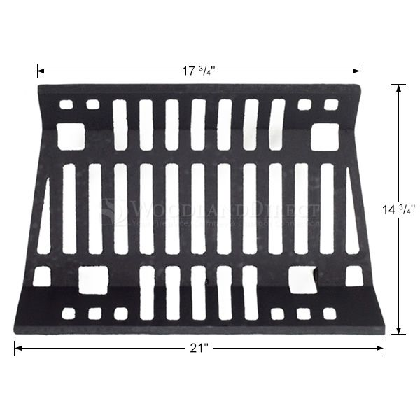 "Traditional Fireplace Grate - 21"" image number 1"