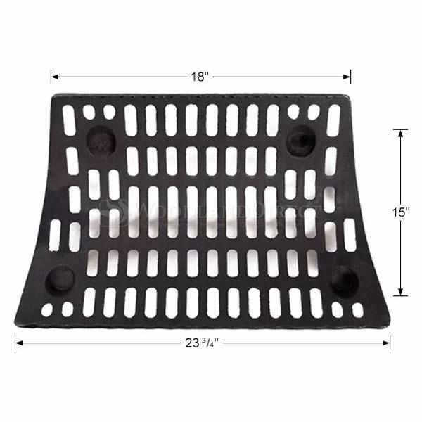 "Self-Feeding Fireplace Grate - 23 3/4"" image number 1"