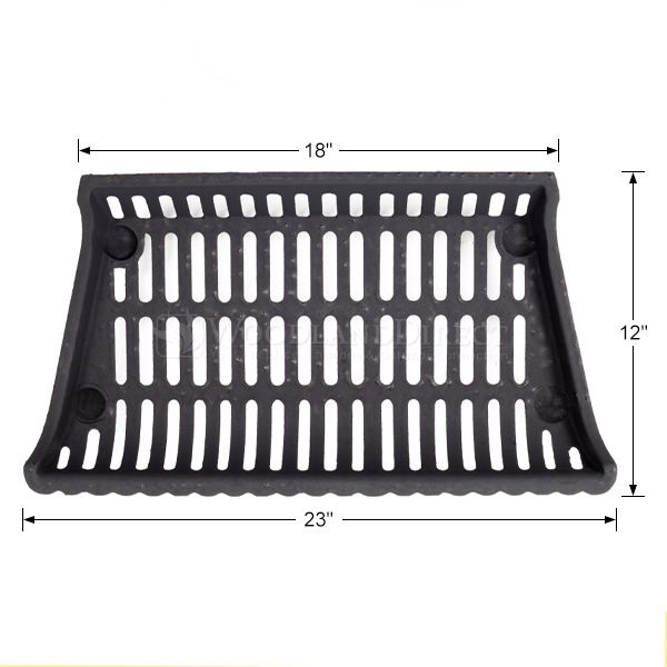 "Modern Fireplace Grate - 23"" image number 1"