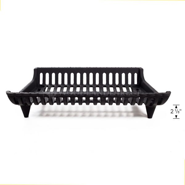 "Modern Fireplace Grate - 23"" image number 2"