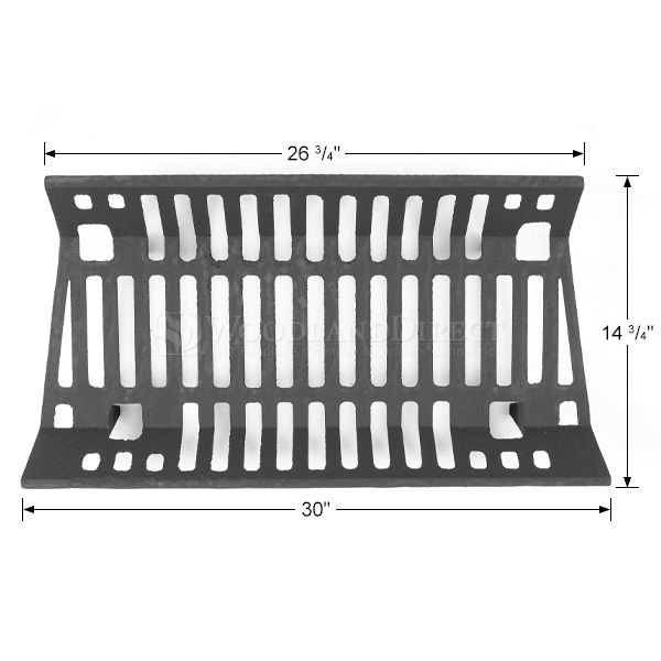 "Traditional Fireplace Grate - 30"" image number 1"