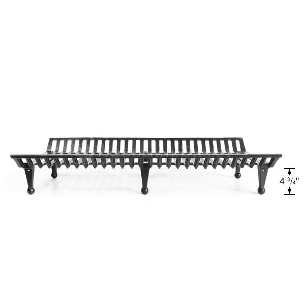 "Jumbo Fireplace Grate - 42"" image number 2"