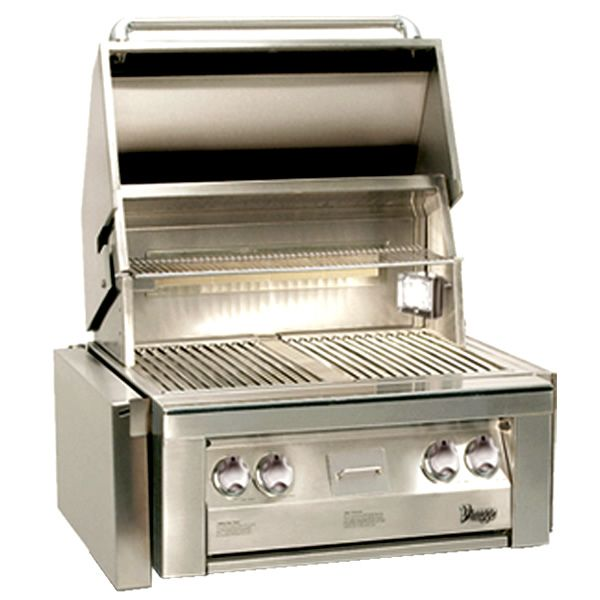 """Vintage Gold Series Stainless Steel Gas Grill Head - 30"""" image number 0"""