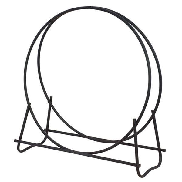 """Uniflame Black Diameter Tubular Log Hoop - 48"""" image number 0"""